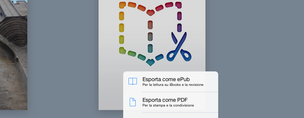 Book Creator export video immagine