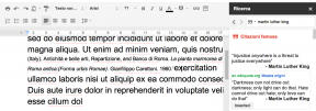 Citazoni Google Docs