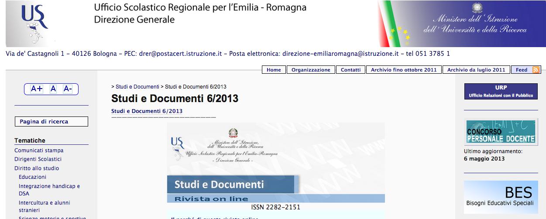 studi e documenti
