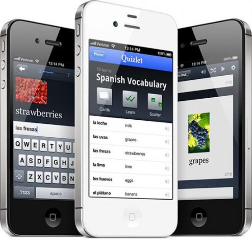 quizlet iphone